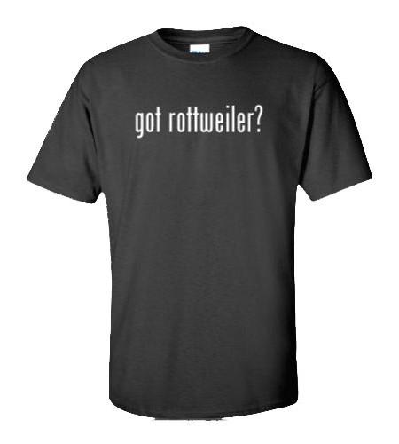 got rottweiler shirt