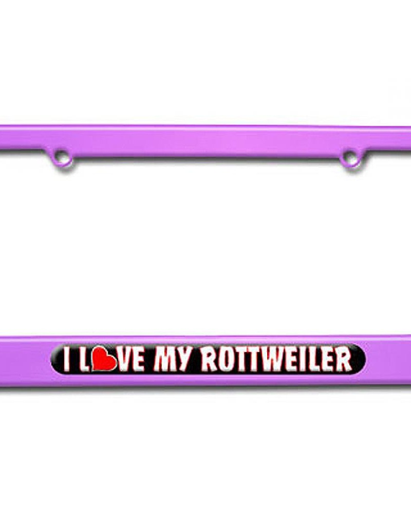 i love heart my rottweiler-purple
