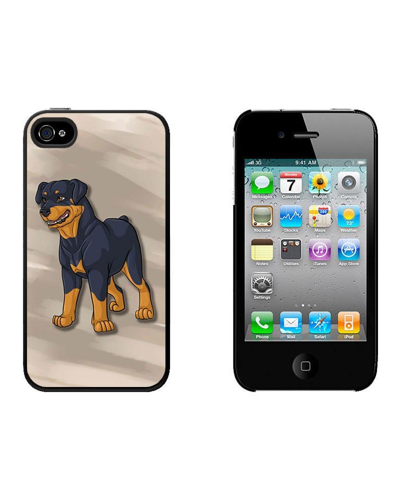 rottweiler-dog-pet-iphone-4