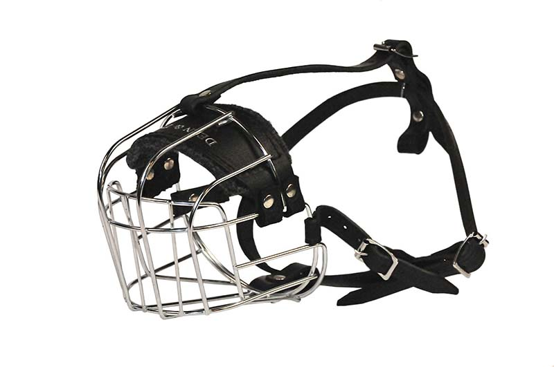 large dean and tyler wire basket muzzle