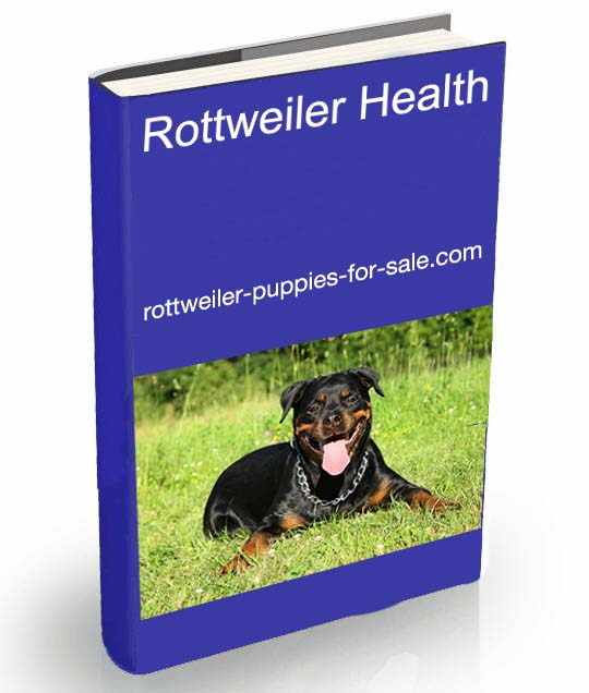 rottweiler health ebook