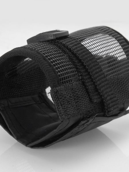velcro nylon adjustable rottweiler muzzle