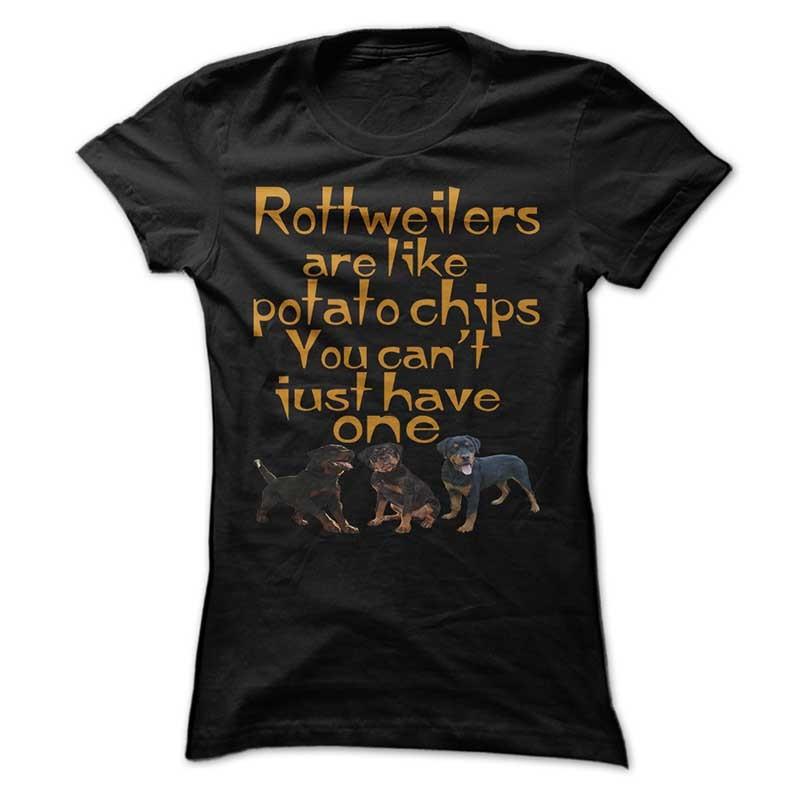 rottweilers like potatochips
